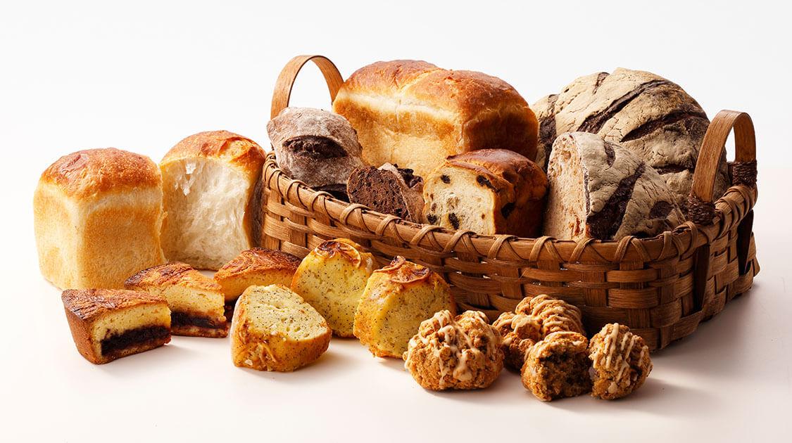 職人が焼き上げたパンを、ご自宅へお届け