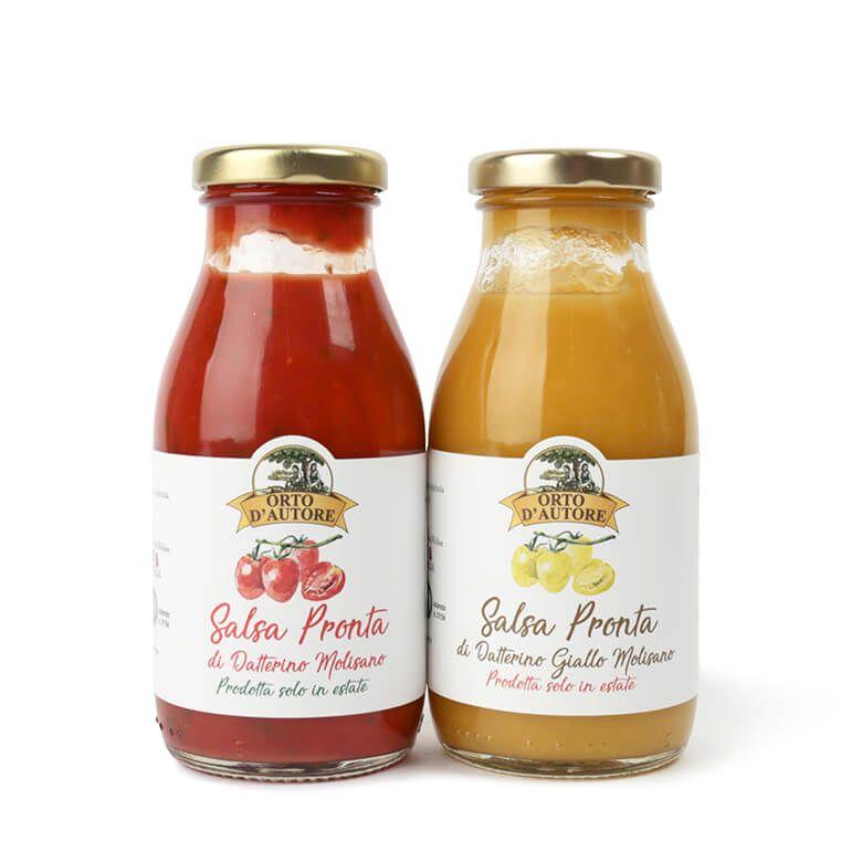 オルト・ダウトーレ  イエロートマトのパスタソース