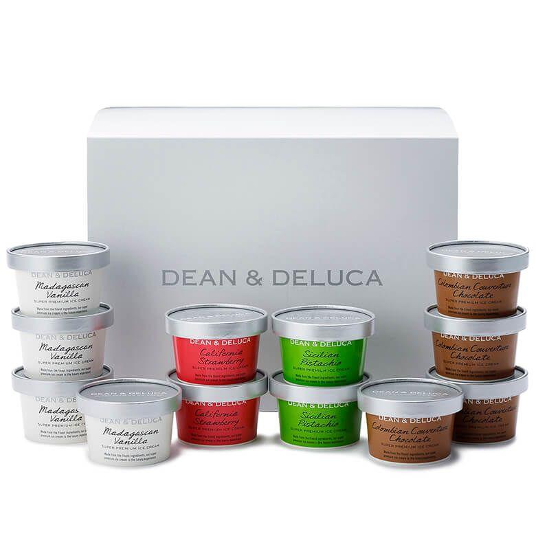 【オンライン限定・週末お届け】DEAN & DELUCA  プレミアムアイスクリーム(12個入)