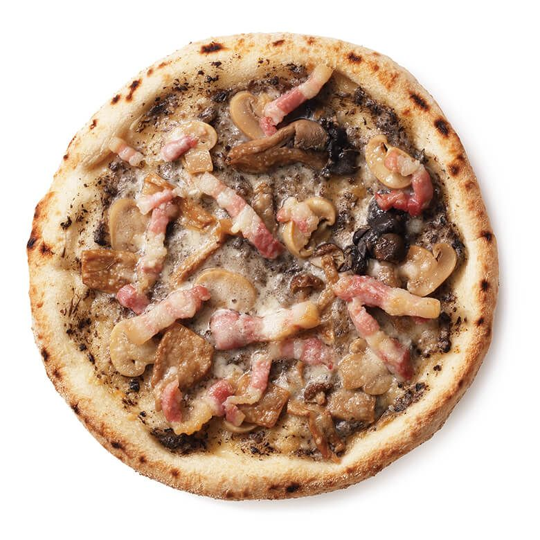 <冷凍便>DEAN & DELUCA パンチェッタと4種キノコのトリュフピザ