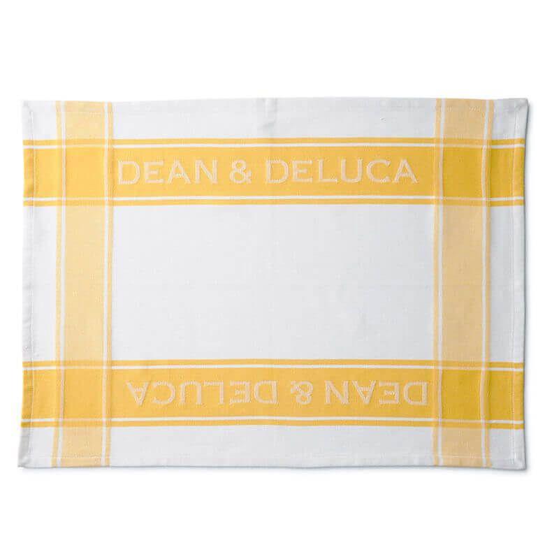 DEAN & DELUCA ティータオル イエロー
