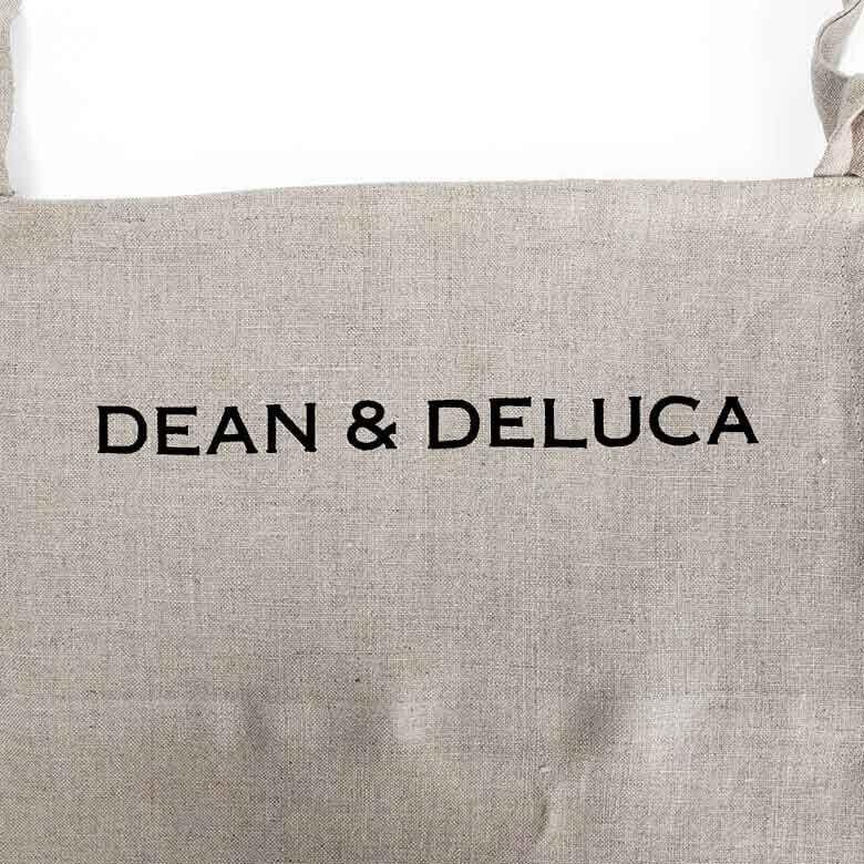 DEAN & DELUCA リネンエプロンとティータオルのセット