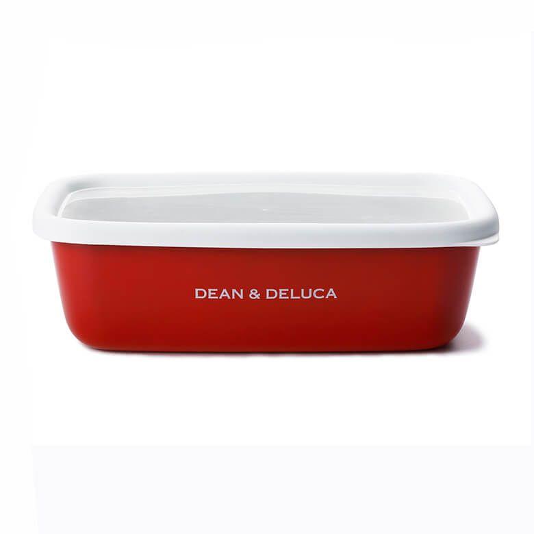 【オンラインストア限定】DEAN & DELUCA ホーローコンテナーコレクションレッド