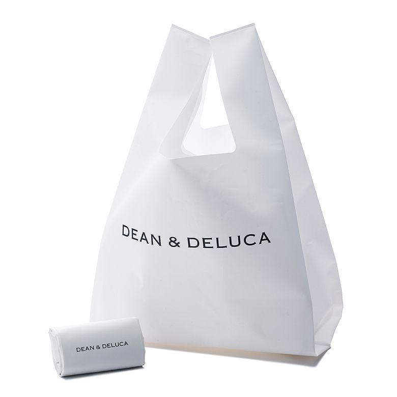 <12月中旬「以降」お届け>DEAN & DELUCA ミニマムエコバッグホワイト