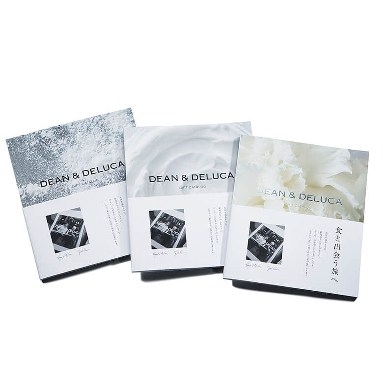 DEAN & DELUCA ギフトカタログ(ブックタイプ)  ホワイト