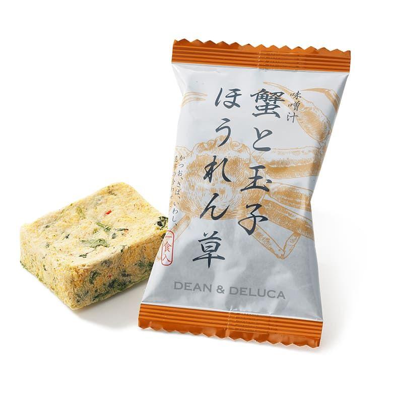 【オンラインストア限定】DEAN&DELUCA 味噌汁24個セット【賞味期限2021年10月29日】