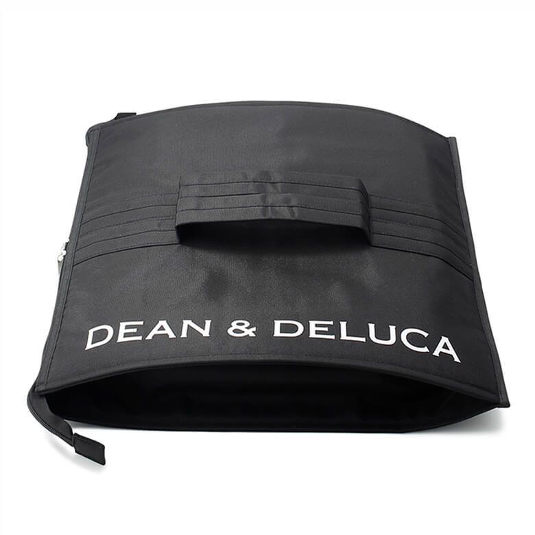 DEAN & DELUCA クーラーバッグ ブラック スクエア