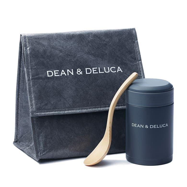 DEAN & DELUCA ランチバッグ チャコールグレー