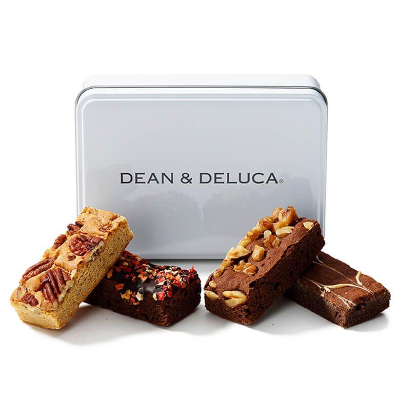 DEAN & DELUCA ブラウニー&ブロンディアソート白缶【賞味期限2021年11月14日】