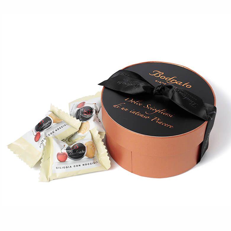 ボドラート ボエロ ギフトボックス ホワイトチョコレートチェリー