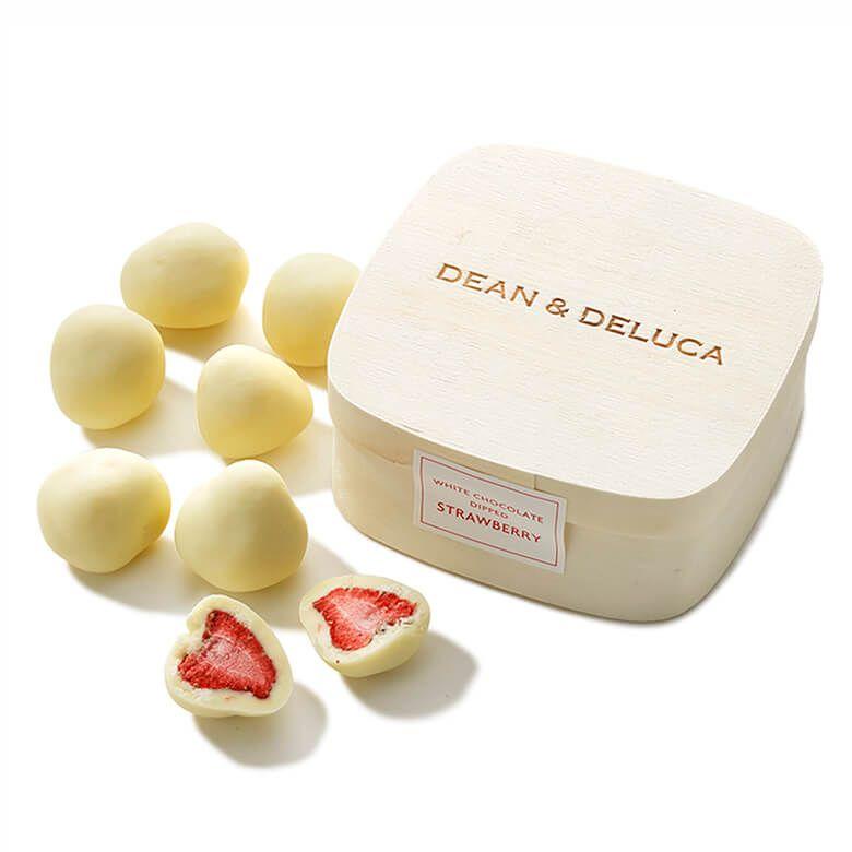 DEAN & DELUCA ホワイトチョコレート ディップド ストロベリー