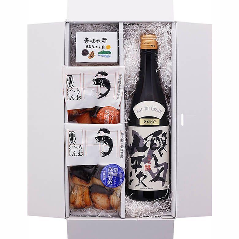 【10月30日お届け】日本酒と肴ギフト