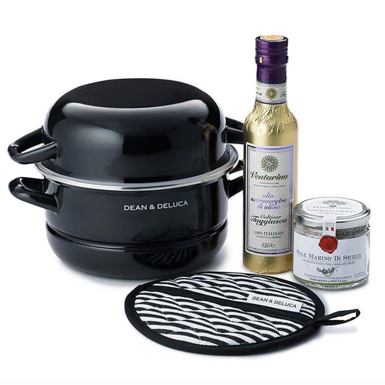 DEAN & DELUCA キャセロール鍋L&イタリアン調味料セット
