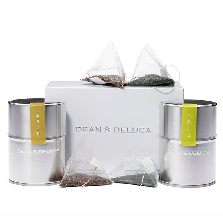 DEAN & DELUCA  日本茶ギフト 玉露八女・ほうじ茶詰め合わせ