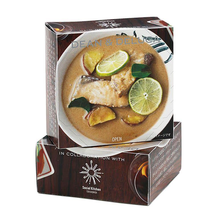 DEAN & DELUCA ブリのココナッツカレー缶