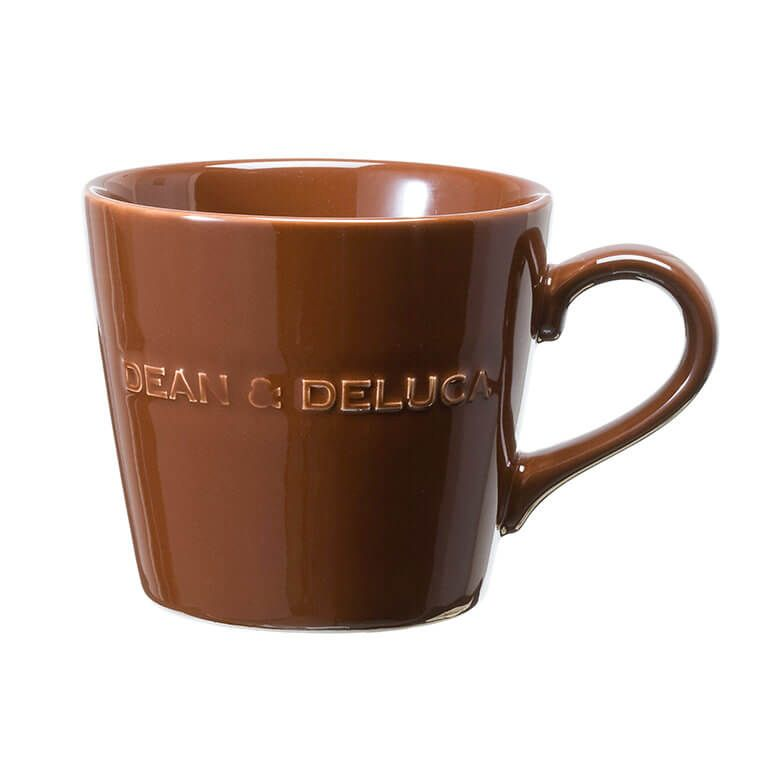 DEAN & DELUCA モーニングマグギフト(ブラウン)