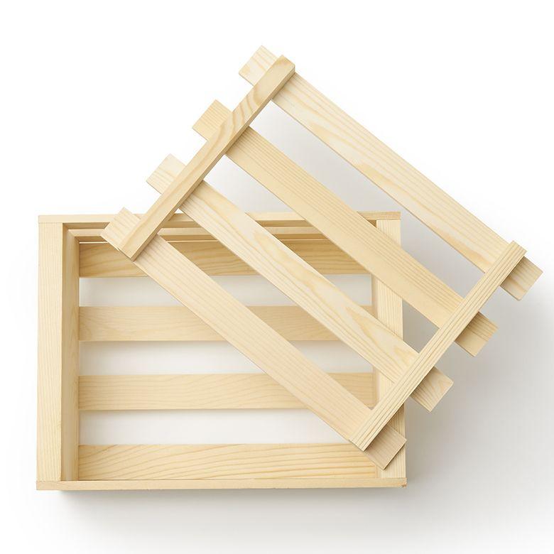 ついに、木製クレートのオンライン発売開始しました。