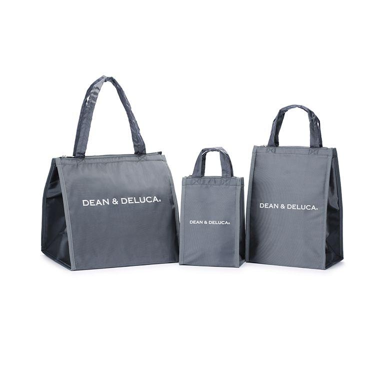 【オンラインストア限定】 DEAN & DELUCA クーラーバッグ グレーL