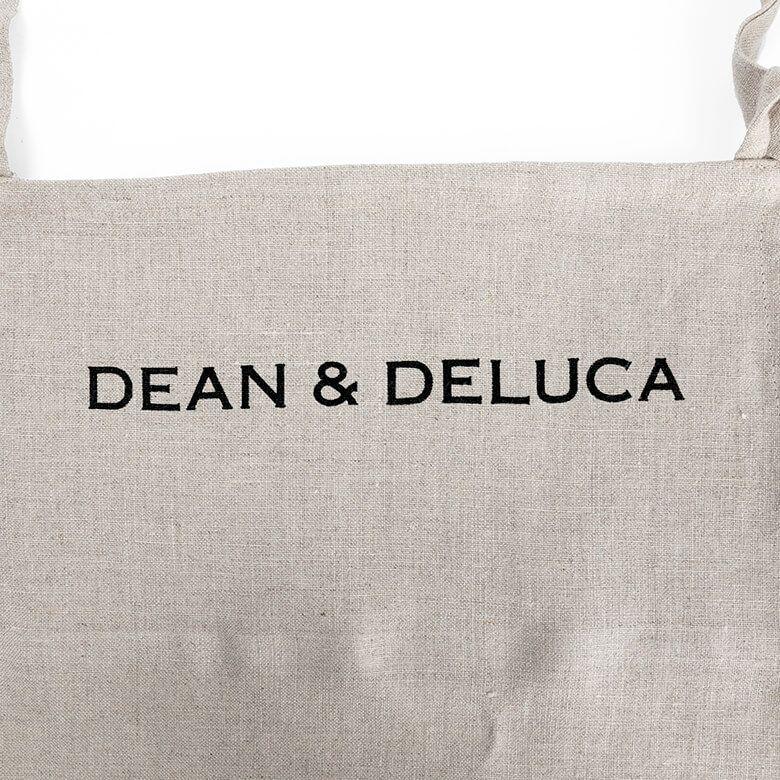 DEAN & DELUCA リネンフルエプロンナチュラル