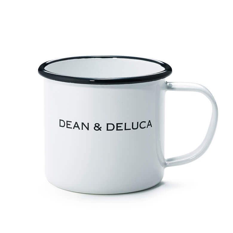 【オンライン限定】DEAN & DELUCA ホーローケトル &マグカップギフト