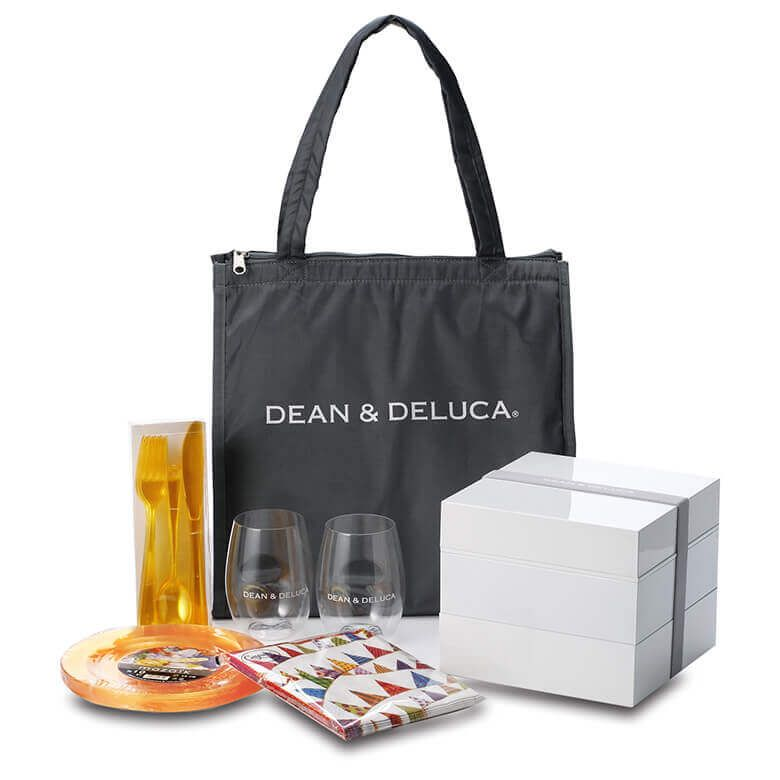 【オンラインストア限定】 DEAN & DELUCA ピクニックバッグ2020