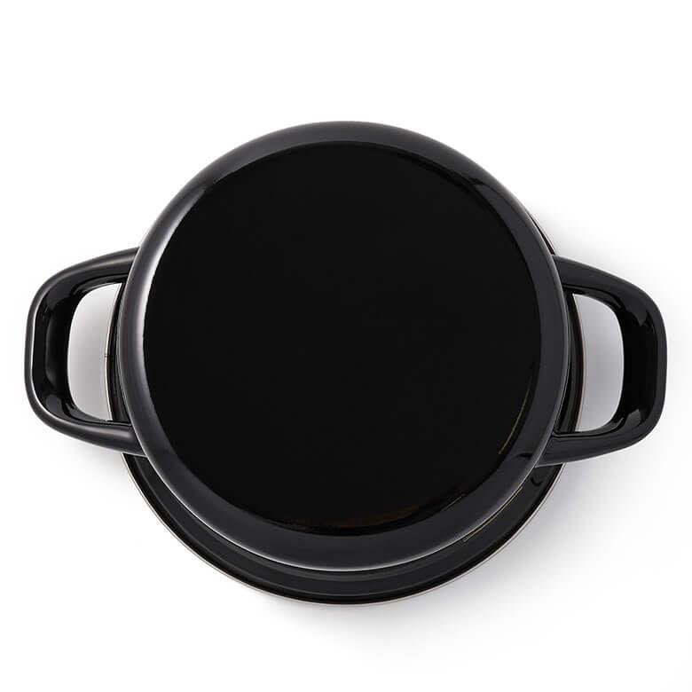 DEAN & DELUCA キャセロールL ブラック(18cm)