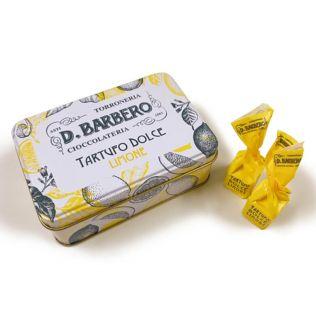 バルベロ トリュフチョコレート レモン缶