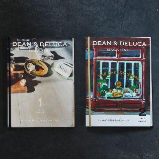 DEAN & DELUCA マガジン ISSUE 01&02 セット