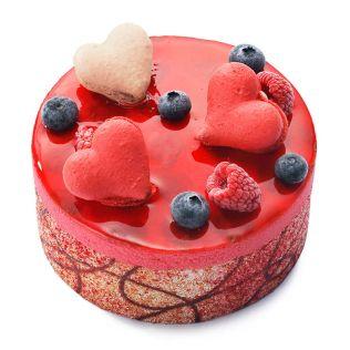 【予約注文/産地直送】アイスケーキ フランボワーズ・フロマージュby ラ・ヴィエイユ・フランス
