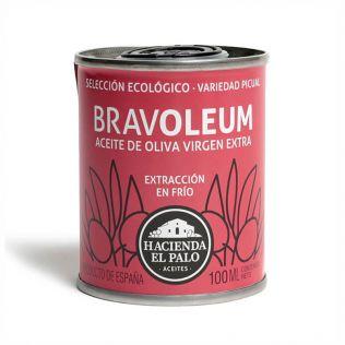 ブラボレウム エキストラバージンオリーブオイル ピクアル エコロジコ 100ml
