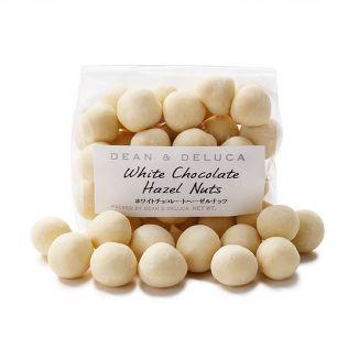 DEAN & DELUCA ホワイトチョコレートヘーゼルナッツピローバッグ
