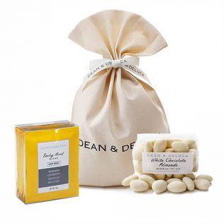 DEAN & DELUCA ホワイトチョコレートアーモンド&ドリップコーヒーギフト【賞味期限2021年7月13日】