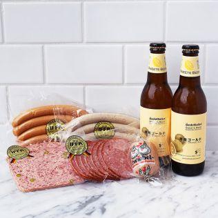 【6月19日、20日お届け】厚木ハムシャクータリー&ビールセット
