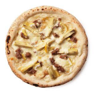 DEAN & DELUCA アーティチョークとサルシッチャのホワイトピザ