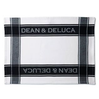 DEAN & DELUCA ティータオル ブラック