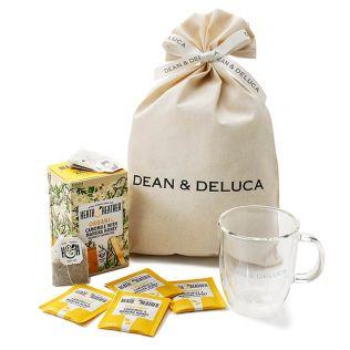【オンラインストア限定】DEAN & DELUCA ハーブティー&ダブルウォールマグギフト