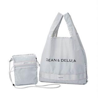 <完売>DEAN & DELUCA × BRIEFING サコッシュ トートバッグ ライトグレー