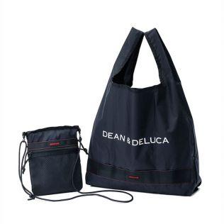 <完売>DEAN & DELUCA × BRIEFING サコッシュ トートバッグ ブラック