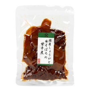 タカハシ食品 国産生姜と牛そぼろの甘辛煮