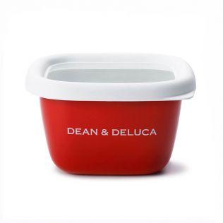 DEAN & DELUCA ホーローコンテナーレッド S