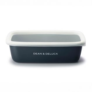 DEAN & DELUCA ホーローコンテナーB2 チャコールグレー