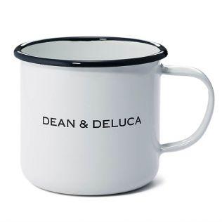 DEAN & DELUCA  ホーローマグカップ ホワイト 400cc