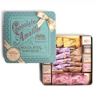 アマリエ チョコレートセレクション缶
