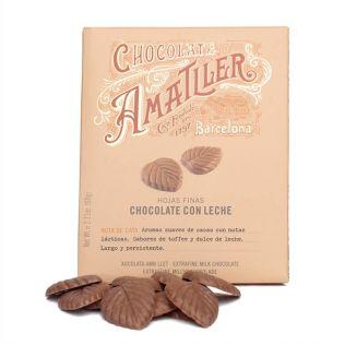 アマリエ リーフ型 ミルクチョコレート