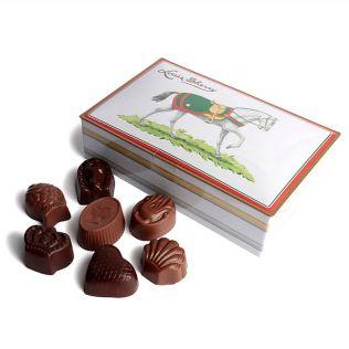 ルイス・シェリー チョコレート缶 12粒入り(競走馬)