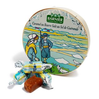 ボンボンバルニエ 塩バターキャラメルボックス入り【賞味期限2021年5月31日】