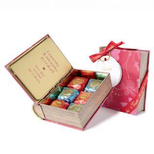 ヴェンキ  バレンタインミニブック缶