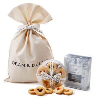 【オンラインストア限定】DEAN & DELUCA ハートジャムクッキーとコーヒーギフト