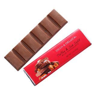 DEAN & DELUCA トフィー&シーソルトミルクチョコレートバー