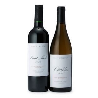 【オンライン限定】DEAN & DELUCA 赤・白ワインギフト